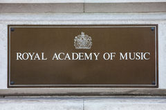 Royal Academy of Music Royalty Free Stock Image