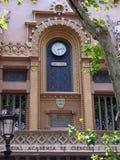 Royal Academy of Sciences Building, La Rambla, Barcelona Stock Image