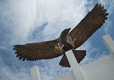 Royal Air Force Association Eagle Stock Image