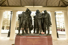 Royal Air Force Bomber Command Memorial royalty free stock photo