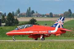 Royal Air Force - frecce rosse - RAF Fotografie Stock