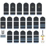 Royal Air Force insignia Stock Images