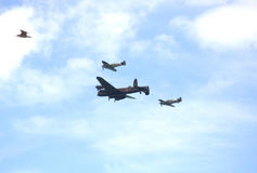 Royal Air Force migra Eastbourne Airshow 2016 Imagem de Stock
