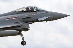 Royal Air Force RAF Eurofighter EF-2000 tyfon FGR 4 ZJ930 från inget skvadron som 41R baseras på RAF Coningsby Arkivfoto