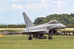 Royal Air Force RAF Eurofighter EF-2000 tyfon FGR4 ZK308 från inget skvadron som 29R baseras på RAF Coningsby Fotografering för Bildbyråer