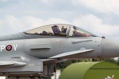Royal Air Force RAF Eurofighter EF-2000 tyfon FGR4 ZK308 från inget skvadron som 29R baseras på RAF Coningsby Arkivfoton