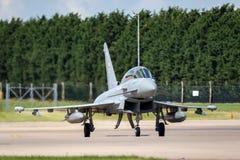 Royal Air Force RAF Eurofighter EF-2000 tyfon T 3 ZK383 från inget skvadron som 29R baseras på RAF Coningsby Fotografering för Bildbyråer
