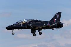 Royal Air Force RAF Hawker Siddeley Hawk T 1 XX162 du centre de Royal Air Force de la médecine aéronautique Photo libre de droits