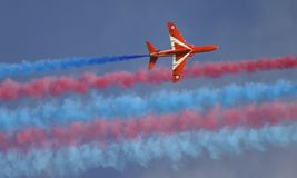 Royal Air Force Red Arrow Royalty Free Stock Photos