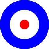Royal Air Force Roundel Fotografía de archivo