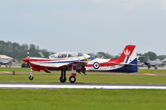 Royal Air Force Tucano Foto de Stock Royalty Free