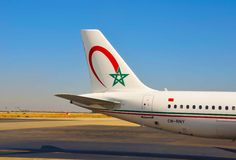 Royal Air Maroc Stock Photo