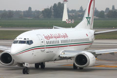 Royal Air Maroc Royalty Free Stock Photo