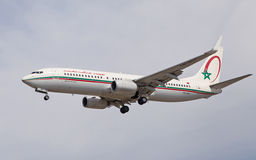 Royal Air Maroc Boeing 737 Imagem de Stock