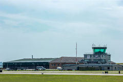 Royal Airfield. A photo of British Royal Navy airfield. Made possible by yeovilton airshow Stock Images