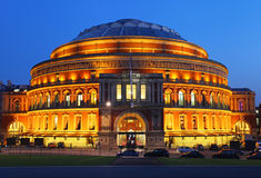 The Royal Albert Hall. In London royalty free stock images