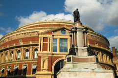 Royal Albert Hall. The Royal Albert Hall, built 1867-71 was built to commemorate the death of Queen Victoria's belove consort Prince Albert and is the leading Royalty Free Stock Photography