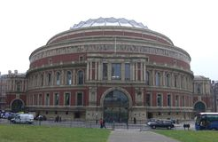The Royal Albert Hall. London Landmark and most famous concert hall Royalty Free Stock Photo
