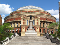 Royal Albert Hall. The Royal Albert Hall opened by Queen Victoria in 1871 is Britain's foremost arts theatre and is best known for holding The Proms each year Royalty Free Stock Photography