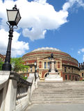 Royal Albert Hall. The Royal Albert Hall opened by Queen Victoria in 1871 is Britain's foremost arts theatre and is best known for holding The Proms each year Royalty Free Stock Images