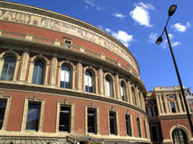 Royal Albert Hall. The Royal Albert Hall opened by Queen Victoria in 1871 is Britain's foremost arts theatre and is best known for holding The Proms each year Stock Photos
