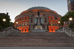Royal Albert Hall at Dusk Stock Photos