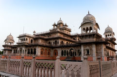 Royal Albert Hall jaipur India. The Royal Albert hall in jaipur (India) houses a museum to showcase the art forms of Rajasthan. The hall is a great example of Royalty Free Stock Image