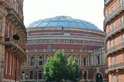 Royal Albert hall from Kensington Royalty Free Stock Image