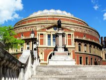 Royal Albert Hall. The Royal Albert Hall in Kensington, London, England, UK, opened by Queen Victoria in 1871 it is Britain's foremost arts music opera theatre Stock Images