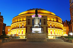 The Royal Albert Hall in London stock images