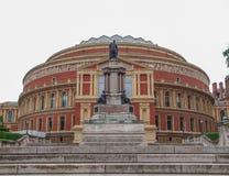 Royal Albert Hall London. Royal Albert Hall concert room in London UK Royalty Free Stock Photo
