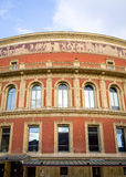 Royal Albert Hall, London. The iconic architecture of the Royal Albert Hall in Kensington, West London.  The music venue is home to the popular Proms series of Stock Images
