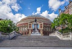 Royal Albert Hall. In London, UK a Concert Hall royalty free stock photos