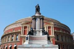 Royal Albert Hall in London, UK. Royal Albert Hall giant monument in hyde park, london, uk Stock Image