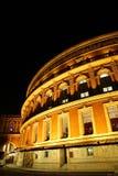 Royal Albert Hall at Night Royalty Free Stock Photo