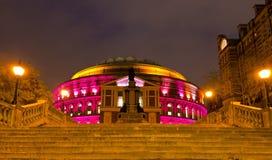 Royal Albert Hall. Night scene in London UK stock photo