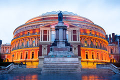 The Royal Albert Hall, Opera theater, in London Stock Images