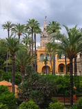 Royal Alcazar Gardens, Seville Stock Images
