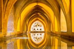 Royal Alcazar of Seville Royalty Free Stock Photography