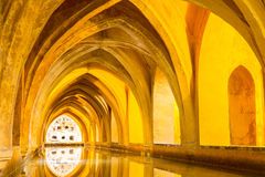 Royal Alcazar of Seville Royalty Free Stock Photo