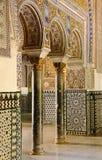 Royal Alcazar in Seville, Spain stock photo