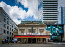 The Royal Alexandra Theatre and modern buildings on King Street, Stock Photo