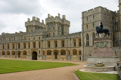 The Royal Apartments in Windsor Castle. (UK Royalty Free Stock Image