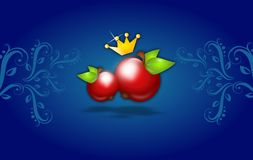 Royal apples Royalty Free Stock Image