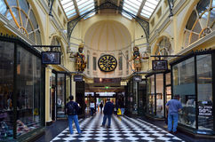 Royal Arcade - Melbourne Royalty Free Stock Photography