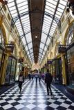 Royal Arcade - Melbourne Stock Image