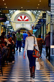 Royal Arcade - Melbourne Stock Photo