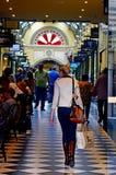 Royal Arcade - Melbourne Stock Photo
