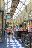 Royal Arcade shopping Melbourne Royalty Free Stock Image