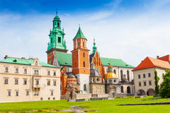 Royal Archcathedral Basilica in Poland Royalty Free Stock Photography